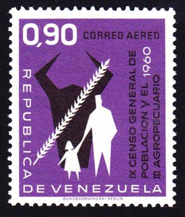 Venezuela stamp 1960