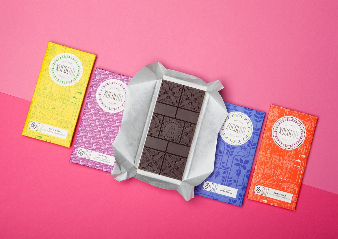 Small Batch Chocolate Atlanta Wrappers
