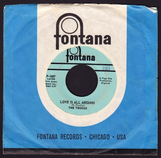 Troggs-Love-Is-All-Around-45