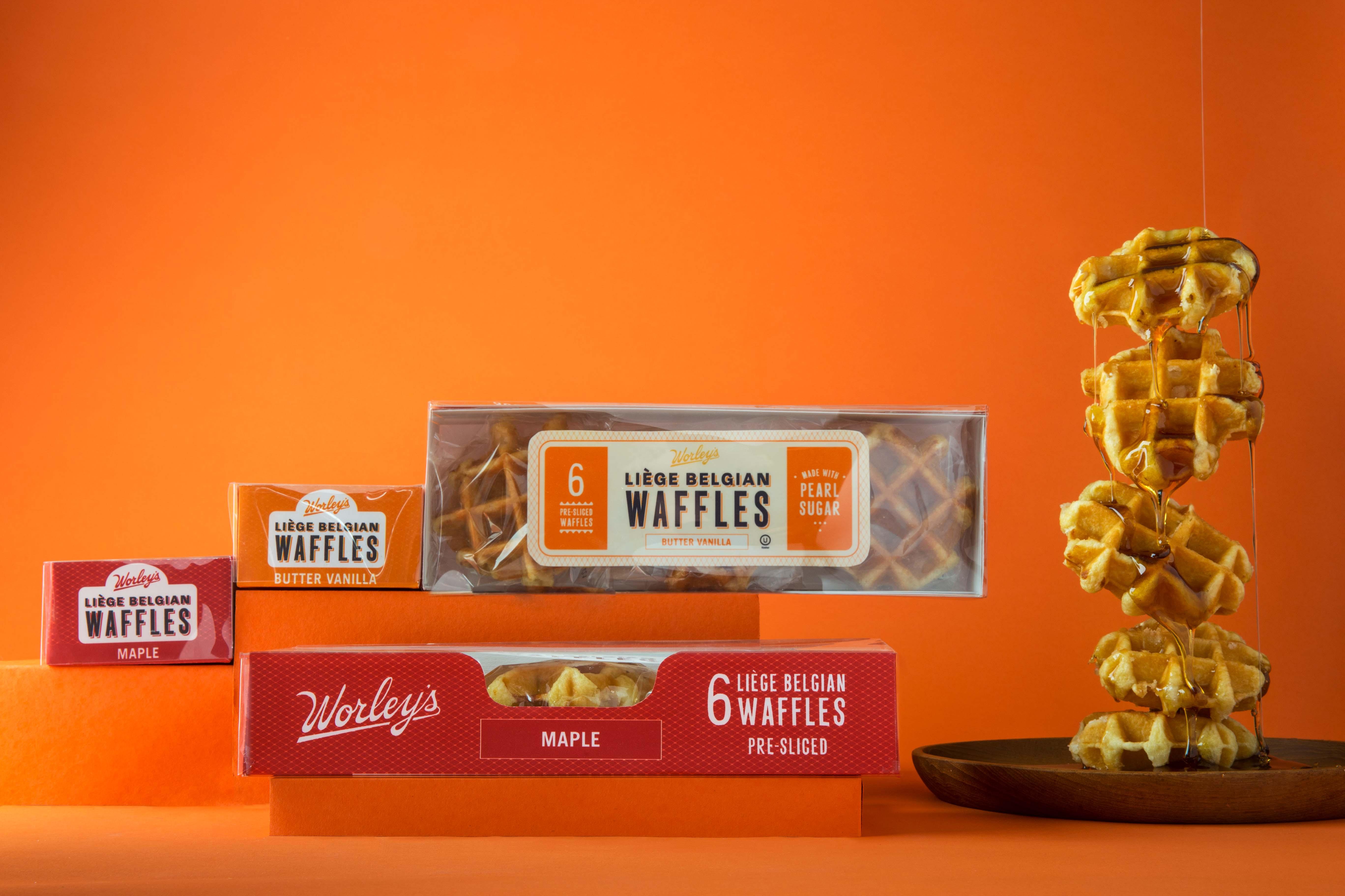 Worley's Liege Belgian Waffles